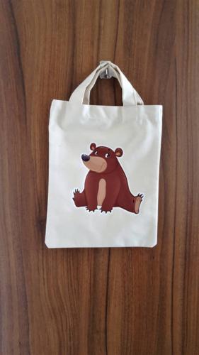 Detská taška 23 x 30 cm, medvík