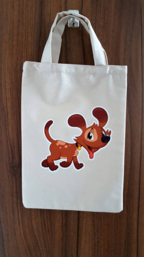 Detská taška 23 x 30 cm, psík (1)