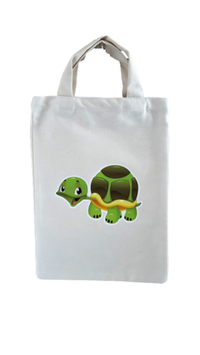 Detská taška 23 x 30 cm  korytnačka-removebg-preview