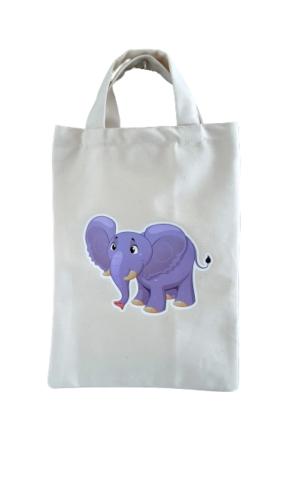 Detská taška 23 x 30 cm  sloník-removebg-preview