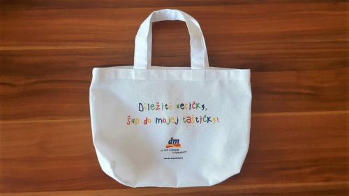 Detská taška na rameno 22 x  30 cm, s dnom, pre DM