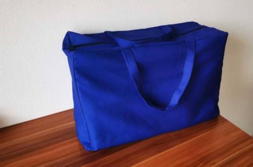 Modrá taška